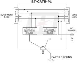 819net single port passive poe injector picker 48vdc 48 mechanical specifications