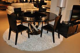 armani round dining table with lazy susan