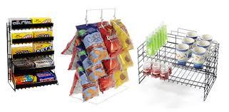 displays countertop metal and wire racks