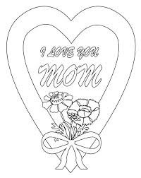 i love you coloring page i love you mom in hearts and roses coloring page printable puppy love coloring pages