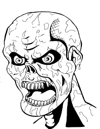 Zombies Coloring Pages Zombie Coloring Pages