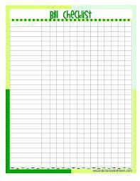 Bill Payment Organizer Template Bill Payment Organizer Printable Monthly Bill Organizer Download