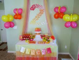 bonita decoraci n de fiesta infantil rosas pinterest