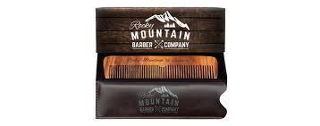 rocky mountain barber company hair beard and moustache comb