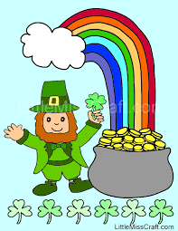 Small Picture Shamrock Coloring Sheet St Patricks Day Coloring Pages Throughout
