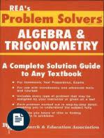 problem solver in strength of materials and mechanics of solids rea algebra trig problem solver