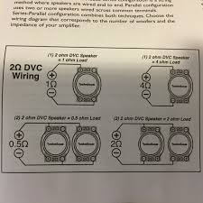 rockford fosgate r d help amplifiers car audio video since i bridged the rear channels of the amp what ohm setup should i be trying to achieve here is a pic of the different configurations