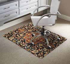 desk chair mat carpet office hard floor for thick executive mesh leather look dining chairs plastic