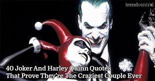 Harley Quinn Quotes Custom 48 Joker And Harley Quinn Quotes That Prove They're The Craziest