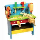 Banco da lavoro in legno per bambini Educo - Giocattoli dal Mondo