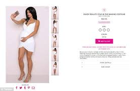 Yandy Size Chart Yandy Releases A Pregnant Kylie Jenner Halloween Costume