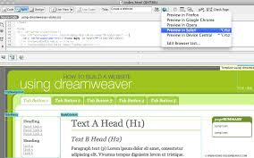 4 to a page template create a web page from a dreamweaver template using dreamweaver