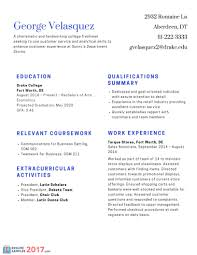 Best Resume Format 2017 Resume format 100 Best Resume Samples for Freshers On the Web 19