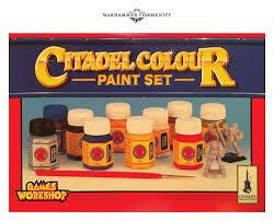 Citadel Paint Chart A History Of Citadel Paint Warhammer Community