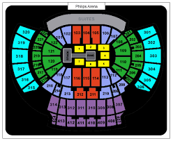 Wwe Seating Chart Xl Center Philips Arena Sections
