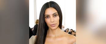 kim kardashian west goes without makeup to paris fashion week