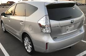 2013 Toyota Prius V With Extended Warranty - Used Toyota Prius V ...