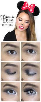 minnie mouse eye makeup mouse makeup tutorial