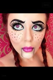 ventriloquist makeup makeup scary doll makeup