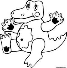 Small Picture 252 best printables images on pinterest crocodile coloring page