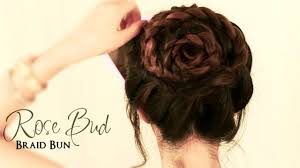 Self Hair Style how to do a rose bud braid bun cute hairstyles for medium long 3960 by wearticles.com