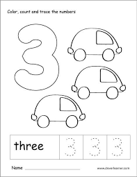 You can freely download and use for educational purposes.have fun! Number 3 Tracing And Colouring Worksheet For Kindergarten Kindergarten Worksheets Preschool Worksheets Numbers Preschool