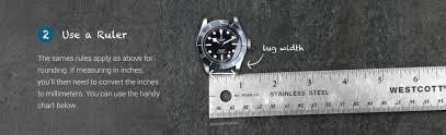 Watch Band Chart Watch Band Measuring Guide Allwatchbands Com