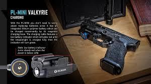 Rechargeable Weapon Light Video Review Olight Pl Mini Pl Mini Valkyrie 400 Lumen