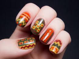 70s Crochet Chic - LCN Charade Nail Art | Chalkboard Nails | Nail ...