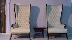 Modern High Back Chairs For Living Room High Back Chair Modern Black Glossy Vixidesigncom Youtube