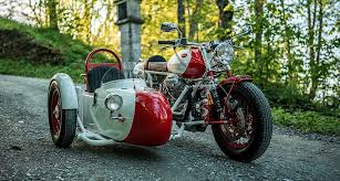 two s company with nct motorcycles custom moto guzzi sidecar