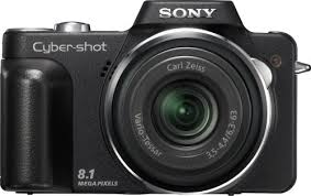 sony camera cybershot. amazon.com : sony cyber-shot dsc-h3 8.1 mp digital camera with 10x optical zoom super steadyshot image stabilization point and shoot cameras cybershot