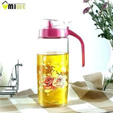glass oil dispenser glass oil dispenser check cur modern kitchen supplies jar pot bottle cruet glass oil dispenser