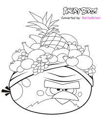 Free Printable Coloring Pages Angry Birds