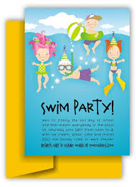 part invites swim party invitations sansalvaje com