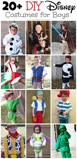 Disney Costume Ideas Diy Disney Costumes For Boys