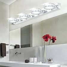 modern bathroom vanity lighting. Led Bathroom Vanity Light Fixtures Buy Modern Crystal Make Up Mirror . Lighting C