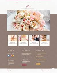 Wedding Wordpress Theme Tender Wedding Planner Wordpress Theme 45883
