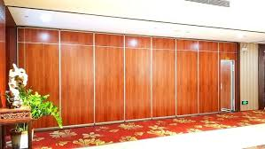 folding office partitions. Acoustic Folding Office Partition Walls , Movable Decorative Room Divider Aluminium Track Partitions