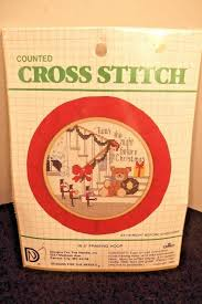 Designs For The Needle Inc Designs For The Needle Counted Cross Stitch Kit 3116 Night Before Christmas