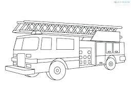 Firetruck Coloring Page Firetruck Coloring Pages Free Fire Truck