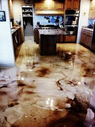 Epoxy Floor Kitchen Flooring Info Diy Countertop Bar Top And Flooring Epoxy