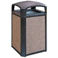 commercial outdoor trash cans. Landmark Series™ Trash Cans Commercial Outdoor Uline