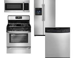 Abt Kitchen Appliance Packages Frigidaire Stainless Steel Kitchen Appliance Package