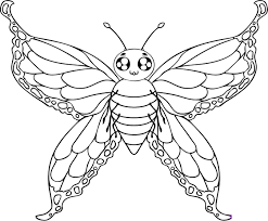 Small Picture Free Printable Butterfly Coloring Pages For Kids Within Page glumme