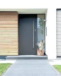 oak front doors modern wooden front doors with glass side panels