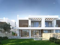 Modern Semi Detached House Design Semi Detached Villa In Cabopino Marbella Este Marbella Maison