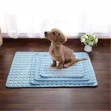 summer cooling ice mat multi functional dogs sleeping portable beds heat dissipation puppy cat cool pad jpg