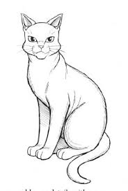 warrior cat drawing outline. Delighful Cat Manga Style Lineart Thereu0027s A Little Bit Of Shading But You Could Still  Colour It Intended Warrior Cat Drawing Outline I