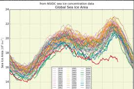 Global Sea Ice Chart A Bleak Looking Sea Ice Graph Has Twitter In A Frenzy The